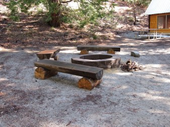 Picnic area for socializing