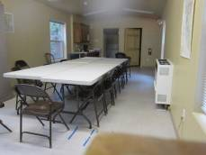 Interior of our classroom facility