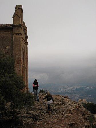 Spain below
