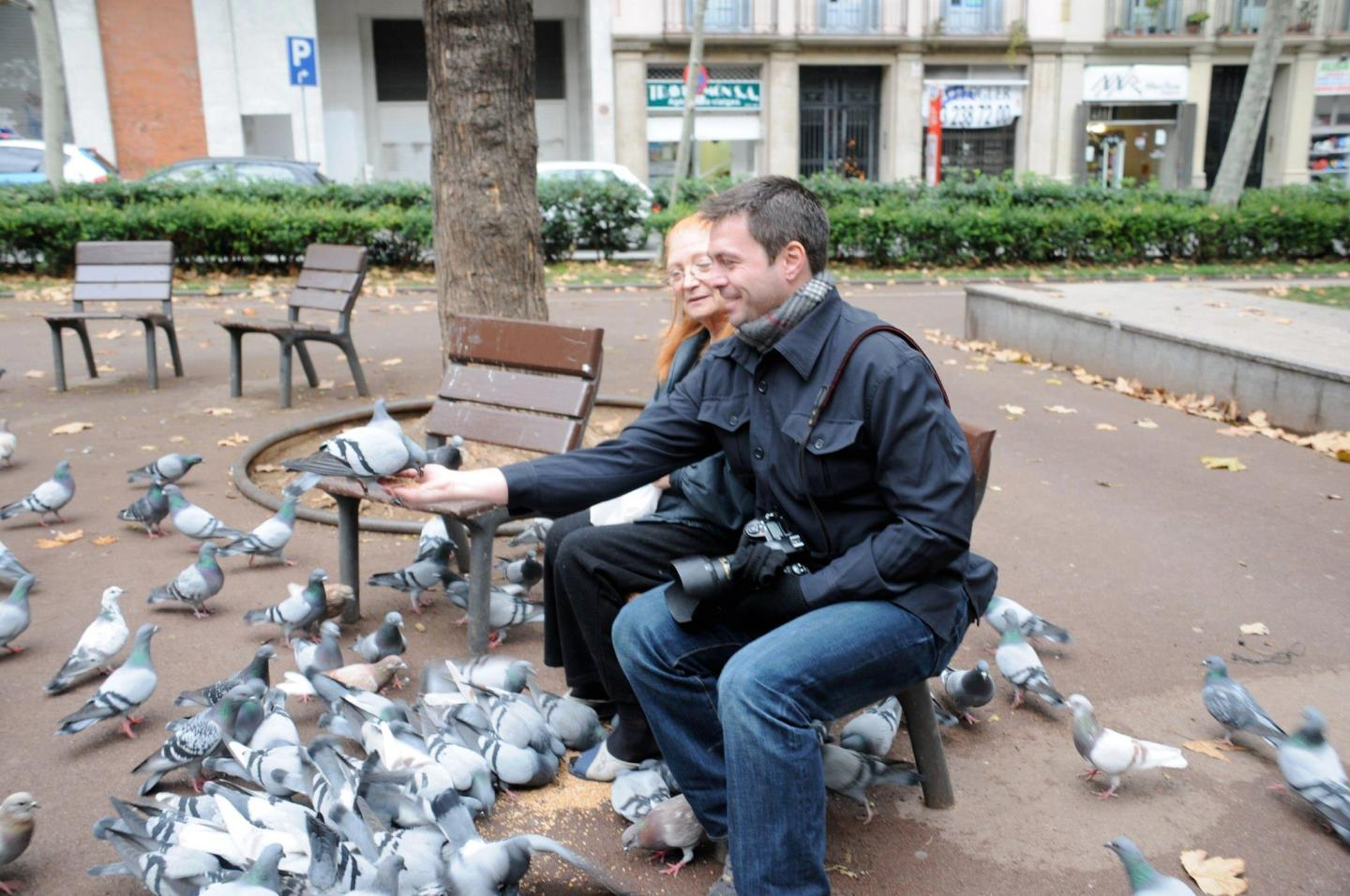 Dean and Pigeon Lady, Paris
