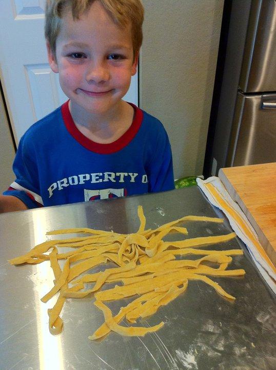 Ian's pasta