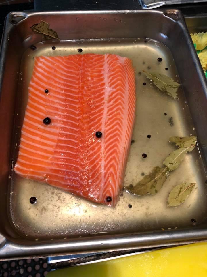 Norwegian trout cures