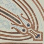Helen dragon serpent knot detail
