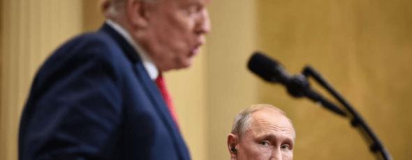 Trump Putin James Alexander Michie