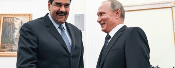 Maduro Putin James Alexander Michie