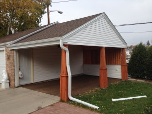 Custom Carport Built | James Allen Builder | Wauwatosa, WI