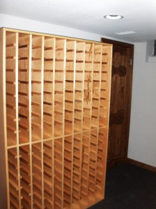 Wine Cellar Installation | Custom Contractor | James Allen Builders | Milwaukee