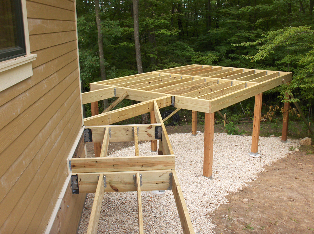 Deck Building   James Allen Builders   Custom Builders