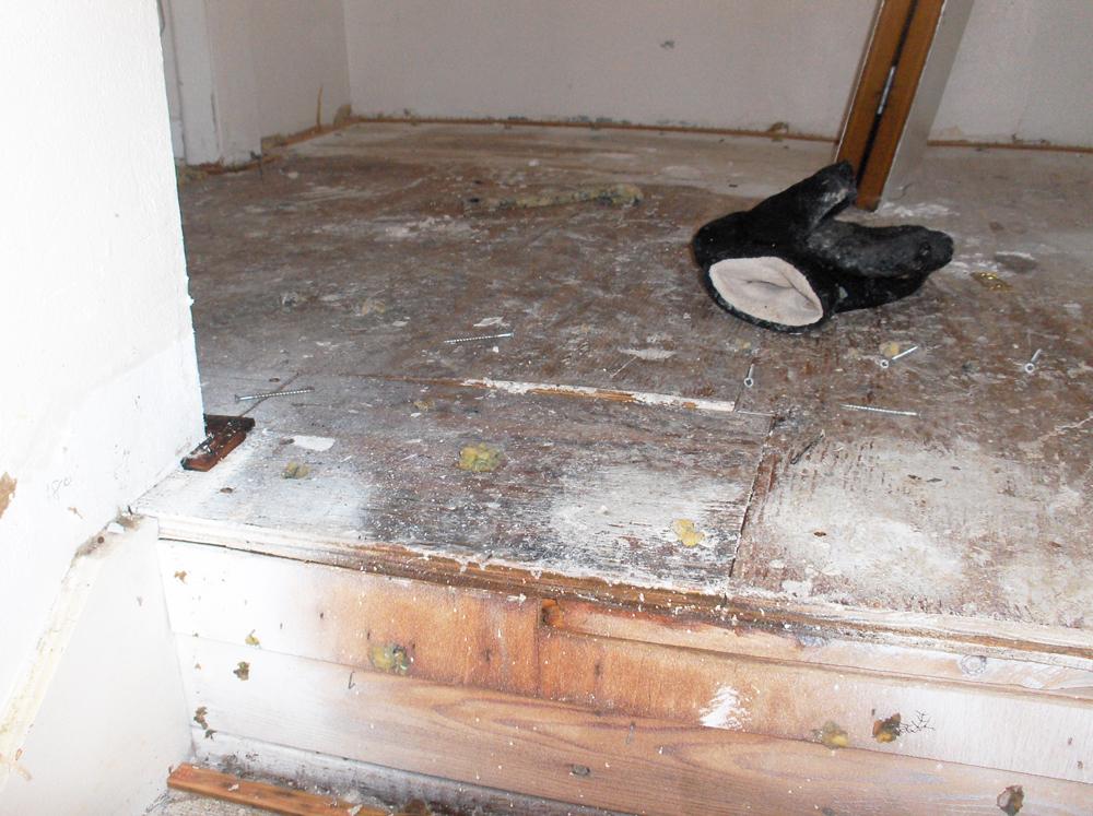 Water Damage Repair   Custom Remodeler   James Allen Builders