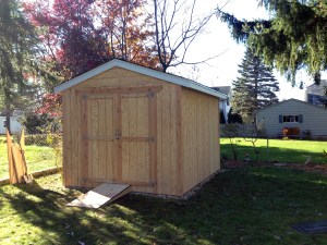 Small Shed Construction | Milwaukee Area Contractor | James Allen Builders