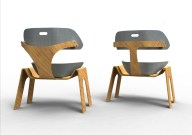 Developed from the third design devlopment, this look is more modern, stylish and contemporary. I was inspired by Scandinavian furniture pieces.