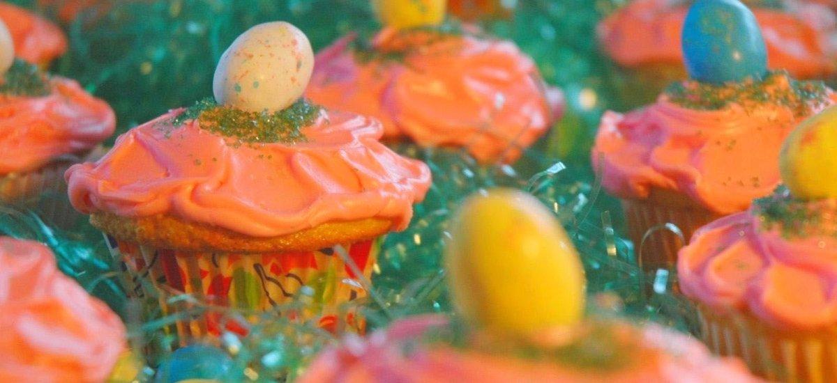 Egg Hunt Cupcakes