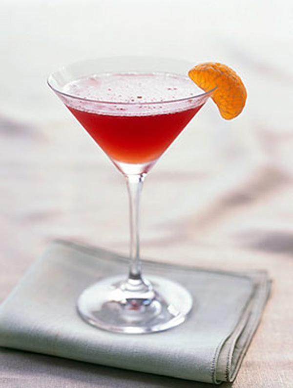 TGIF with an Amaretto-Cranberry Kiss