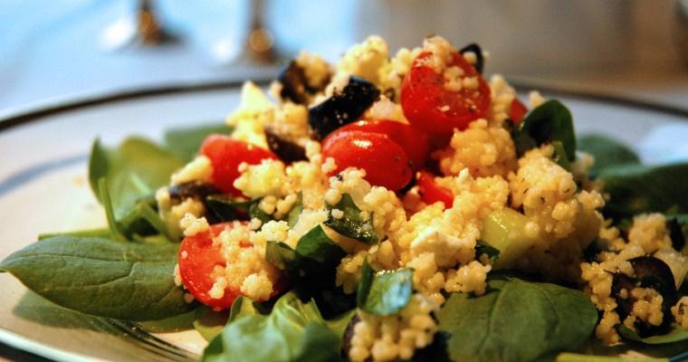 Greek Couscous Salad