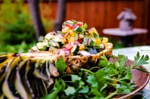 Grilled Pineapple Salad