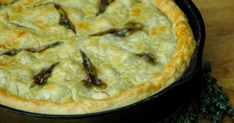 Steak & Ale Mushroom Pie