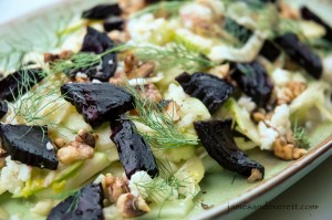 Fennel and beet salad recipe
