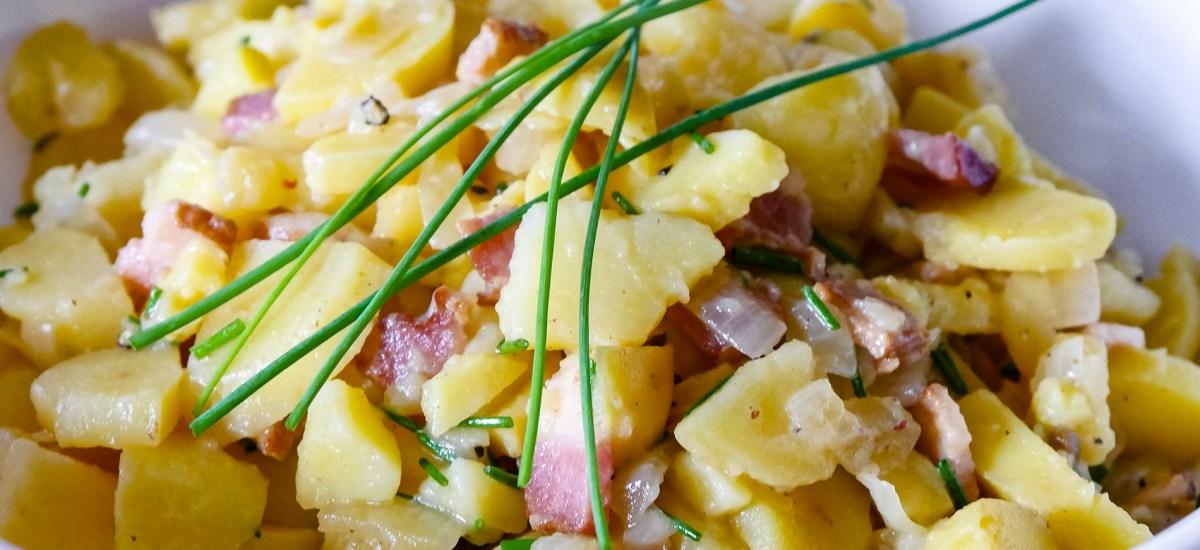 Kartoffelsalat mit Speck – German Potato Salad