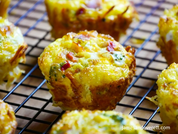 Hash Brown and Egg Cups