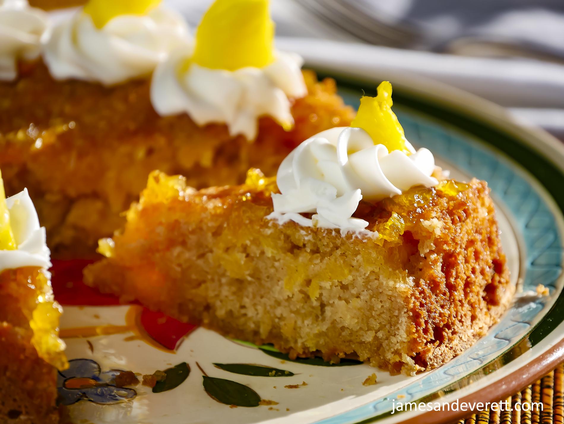 Fresh Pineapple Butter Cake