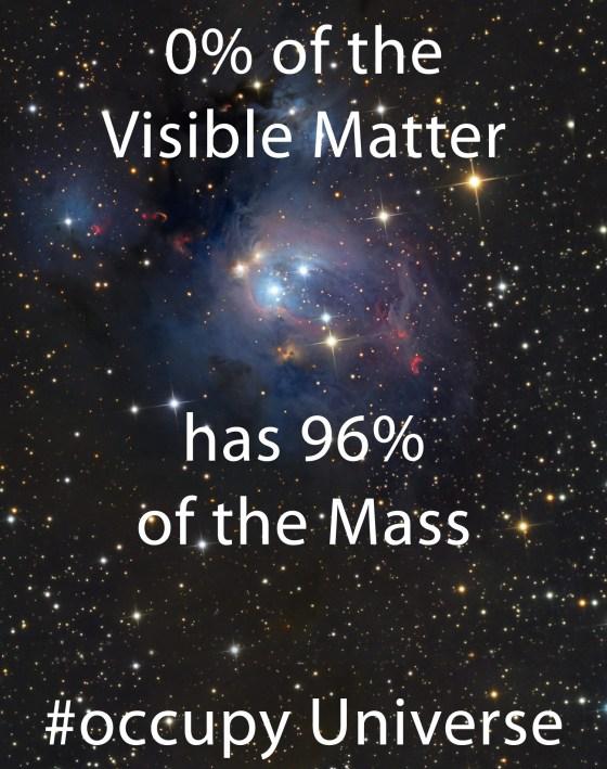 Stick it to the dark matter.