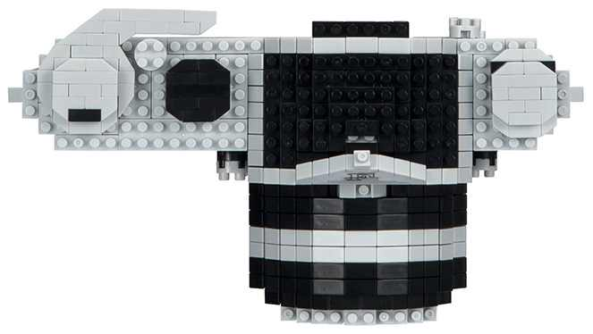 nanoblock Nikon F camera kit