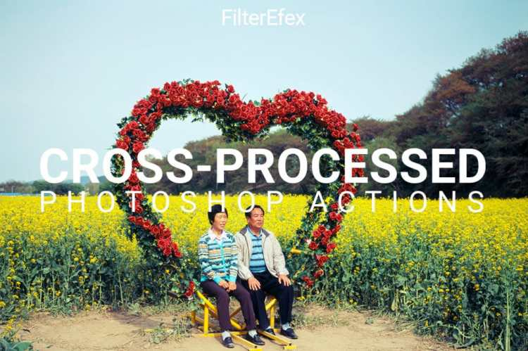 FilterEfex Cross-Processed Photoshop Actions