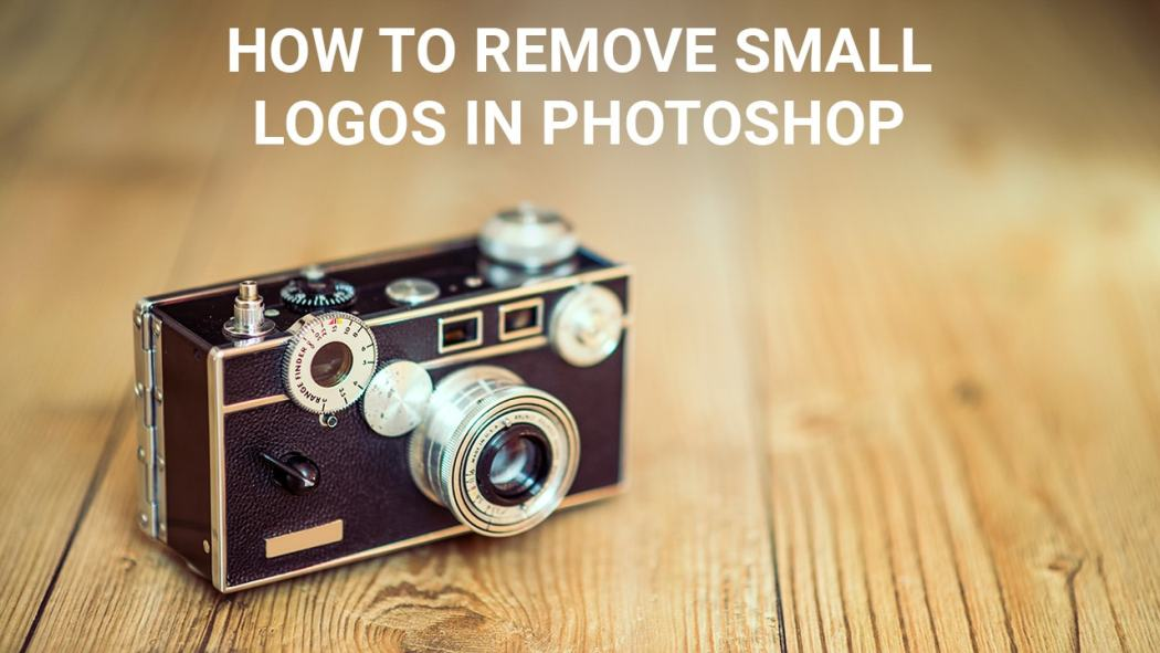 How tp remove small logos in Photoshop