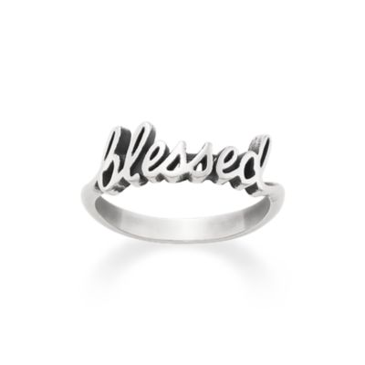 blessed ring james avery