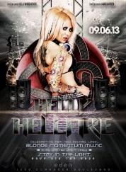 """Helly Mae Hellfire Blond Momentum Release Party"""