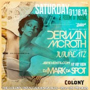 """Colony Hollywood Saturdays 2014 January 18 flyer 650x650"""