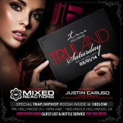 """Mixed Reactions at Tru Hollywood Saturdays flyer 640x640"""