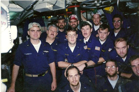 The Wardroom of USS Billfish