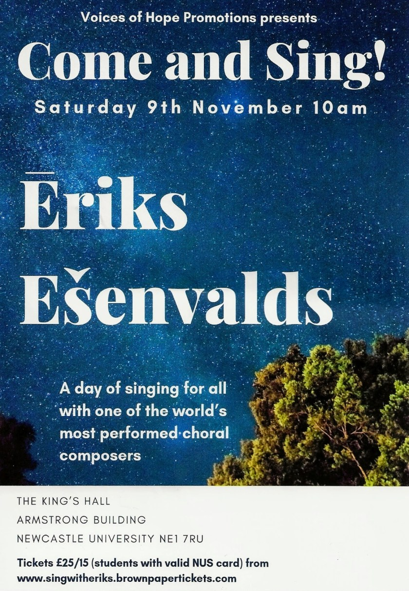 Music at J's and B's - Eriks Esenvalds