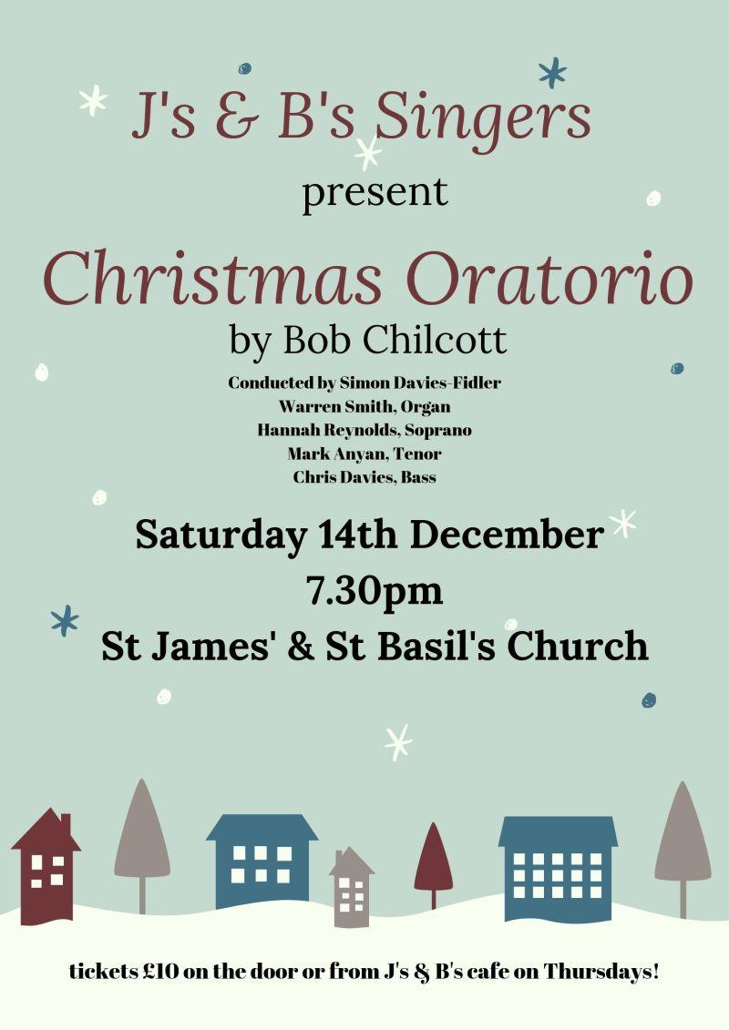 Music at J's and B's - Christmas Oratorio