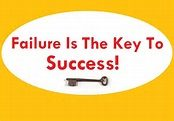 faiure is the key to success