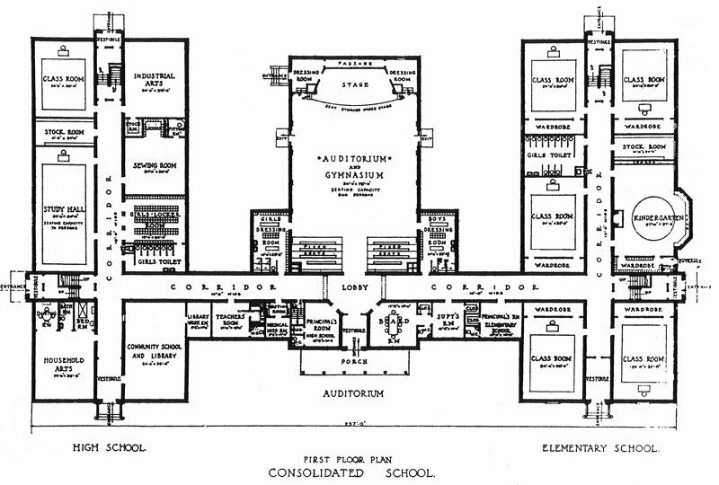 Simple School Building Plans