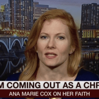 A Secular, Pro-Choice, Feminist's Conversion to Christianity, Ana Marie Cox.
