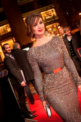 October 24, 2012 - Paris, FRANCE: Bérénice Marlohe at the SKYFALL Paris Premiere at UGC Normandy.