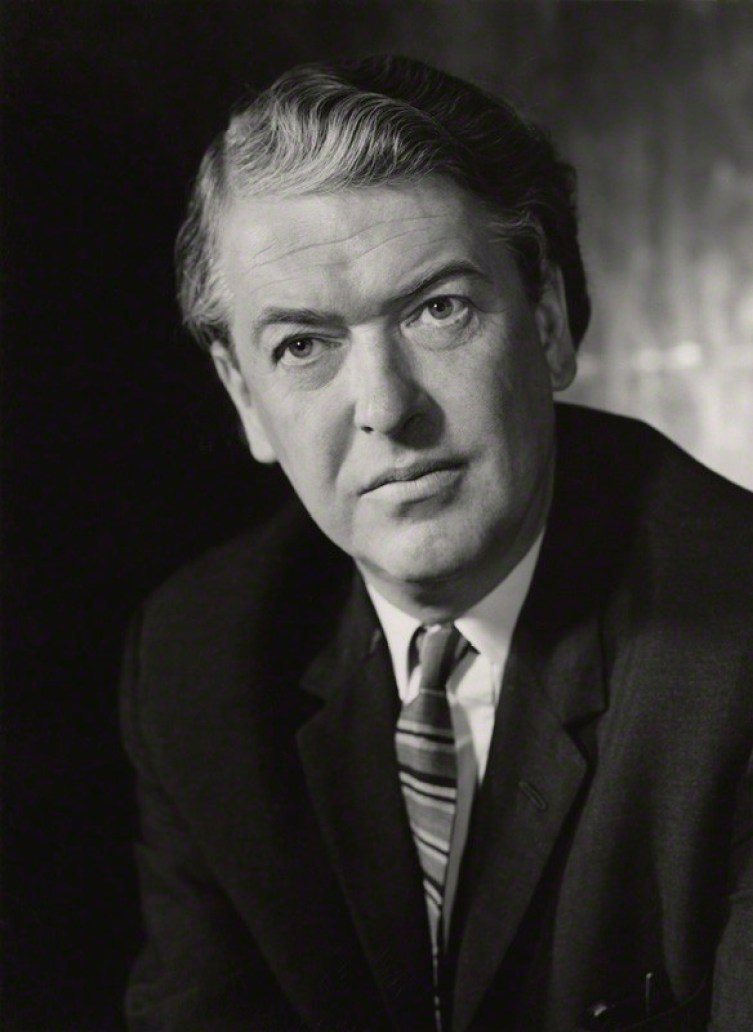 NPG x163584; Sir Kingsley Amis by Godfrey Argent