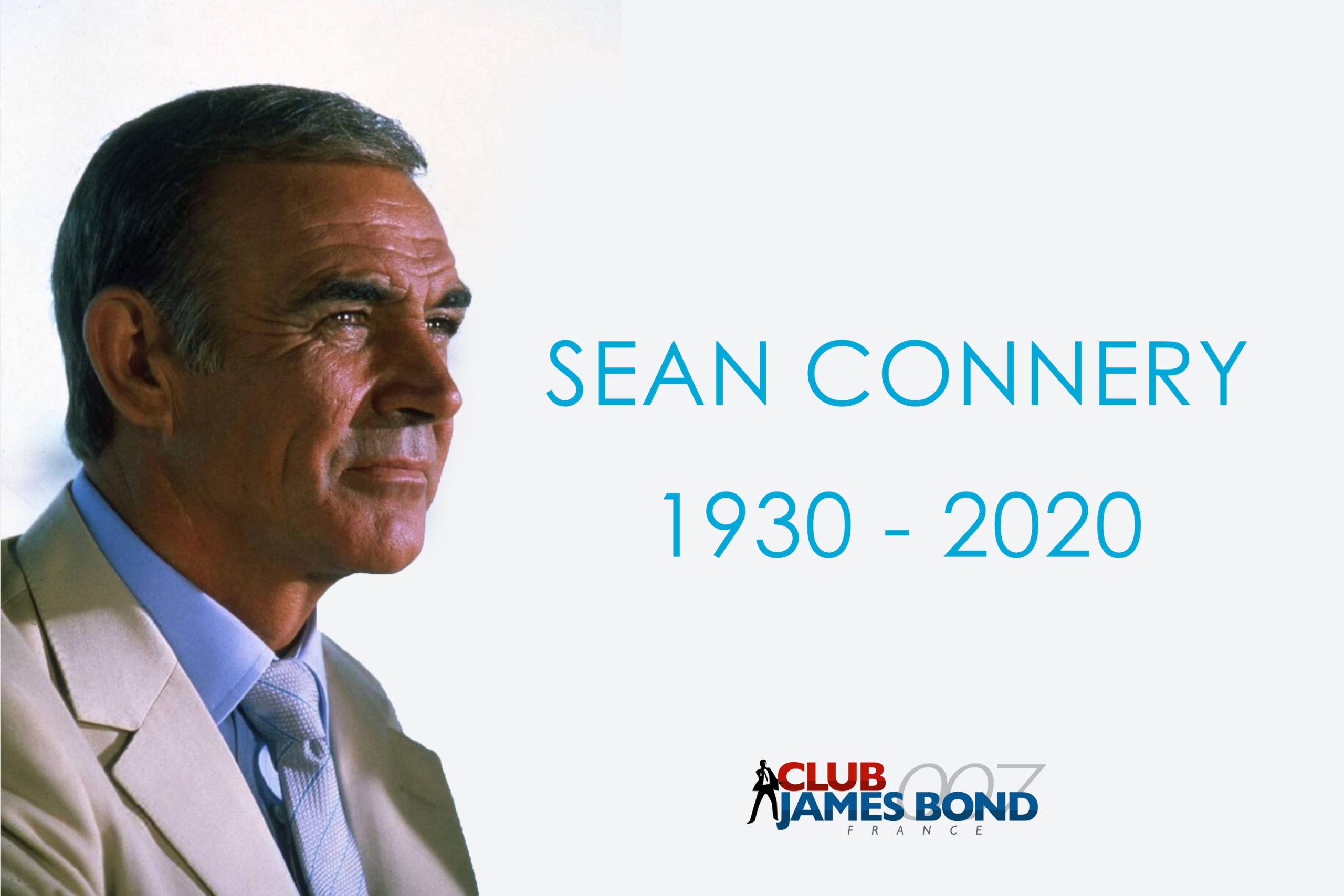 SEAN CONNERY : Décès de l'acteur qui fut James Bond 7 fois