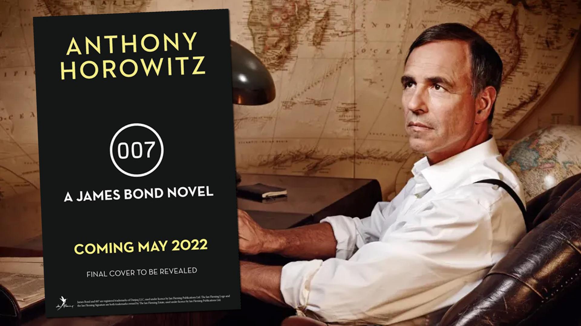 ANTHONY HOROWITZ : Un troisième roman consacré à 007 en préparation !