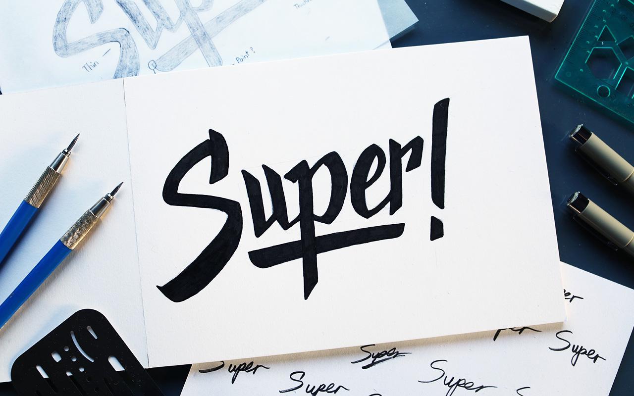 super_handlettering