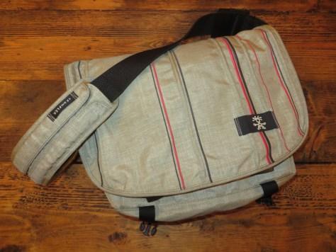 "Undercover (Crumpler 13"" Good Boy sling bag)"
