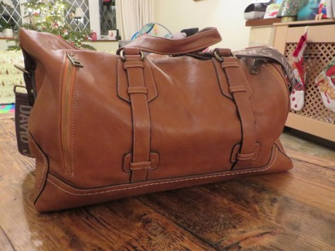 The sleeper (David Jones overnight bag)