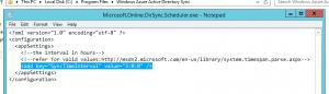 Microsoft.Online.DirSync.Scheduler.exe.Config
