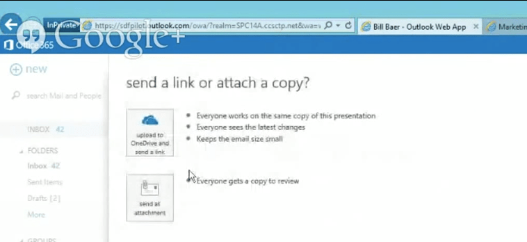 OneDrive for Business to store Outlook Attachments - James Callaghan