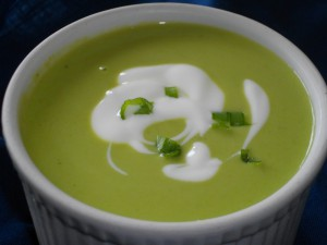 Pea Chowder or Pea Soup