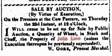Sydney Gazette Saturday 11 March 1815