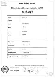 Higgins Owen Marriage - thanks to fellow Higgins research, Greg Tevelen.